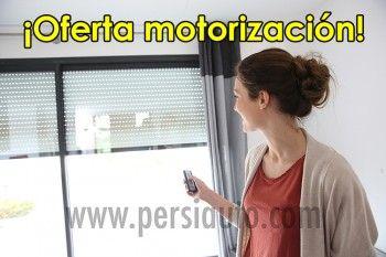 Motorizar persiana doméstica
