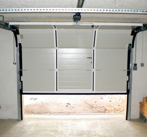 Motorizaci n puerta seccional garaje barcelona - Motor puerta garaje seccional ...