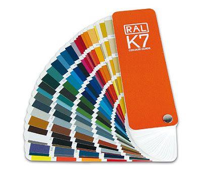 Carta colores RAL