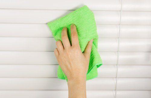 Limpieza de persianas