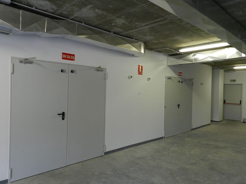Puertas cortafuegos Barcelona